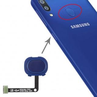 Fingerprint Sensor für Samsung Galaxy M20 Blau Ersatzteil Flexkabel Reparatur