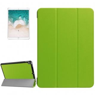 Smartcover Grün Cover Tasche für Apple iPad Pro 10.5 2017 Hülle Etui Case Schutz