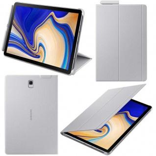Samsung Book Cover EF-BT830 Flip Hülle f. Galaxy Tab S4 10, 5 Zoll SM-T835 Grau