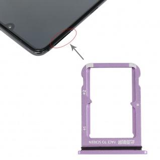 Sim Card Tray für Xiaomi Mi 9 Lila Karten Halter Holder Ersatzteil Reparatur