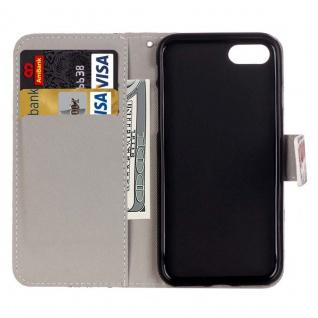 Schutzhülle Muster 72 für Apple iPhone 7 Bookcover Tasche Case Hülle Wallet Etui - Vorschau 2