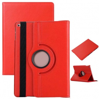 Schutzhülle 360 Grad Rot Case Cover Etui Tasche für NEW Apple iPad 9.7 2017 Neu