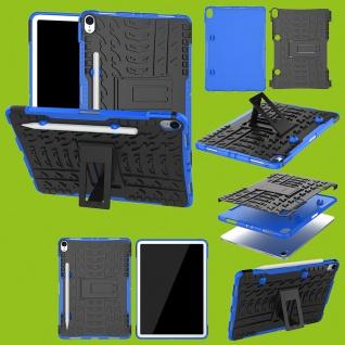 Für Apple iPad Pro 11.0 Zoll 2018 Hybrid Outdoor Case Blau Tasche Cover Hülle