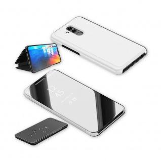 Für Huawei P30 Clear View Smart Cover Silber Etuis Tasche Hülle Wake UP Case Neu - Vorschau 3