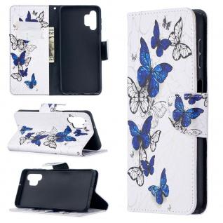 Für Samsung Galaxy A32 5G Kunst-Leder Handy Tasche Motiv 9 Hülle Case Etui Cover