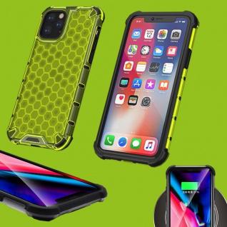 Für Apple iPhone 11 6.1 Zoll Schock Hybrid Silikon TPU Grün Tasche Hülle Etuis