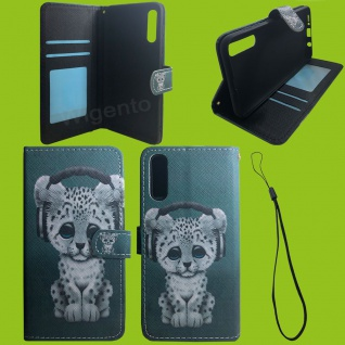 Xiaomi Redmi Note 9S/9 Pro Kunst-Leder Handy Tasche Motiv 57 Hülle Case Cover