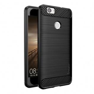 IPAKY Design Hardcase Schutz Schwarz Hülle für Huawei Nova 5.0 Tasche Cover Neu