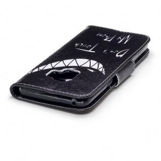 Tasche Wallet Book Cover Motiv 25 für Samsung Galaxy S9 G960F Hülle Case Etui - Vorschau 5