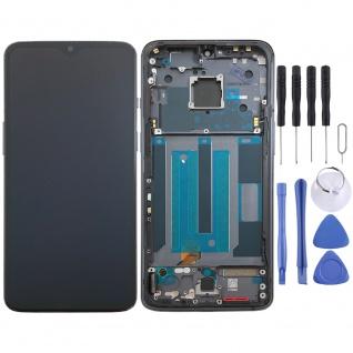 Für OnePlus 7 Display LCD Einheit Touch Screen Ersatz mit Rahmen Schwarz Neu