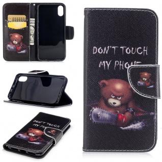 Tasche Wallet Motiv 31 für Apple iPhone X / XS 5.8 Zoll Hülle Case Etui Schutz