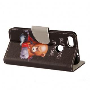 Tasche Wallet Book Cover Motiv 20 für Huawei P Smart Hülle Case Etui Schutz Neu - Vorschau 4