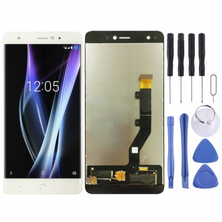 Für BQ Aquaris X / X Pro Display Full LCD Touch Screen Ersatz Reparatur Weiß Neu