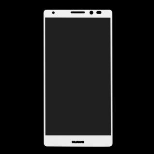 Full Hartglas 0, 26 mm dünne H9 Schock Weiß für Huawei Mate 8 Hülle Schutz Neu