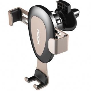 Universal KFZ Halter Lüftungsgitter Wireless Charging Vent Mount Halterung Gold