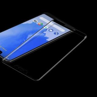 Für Google Pixel 3 3D LCD Display Premium 0, 3 mm H9 Hart Glas Schwarz Folie Neu