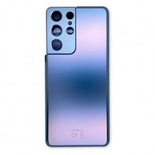 Samsung Akku Deckel Batterie Cover Galaxy S21 Ultra GH82-24499B Phantom Silber