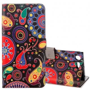 Schutzhülle Motiv 23 für Sony Xperia XZ1 Compact Tasche Hülle Case Zubehör Neu