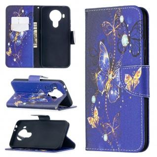 Für Nokia 5.4 Kunst-Leder Handy Tasche Motiv 3 Hülle Case Etuis Cover Schutz