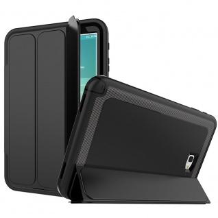Hybrid Outdoor Schutzhülle Schwarz für Samsung Galaxy Tab A 10.5 T590 Tasche Neu