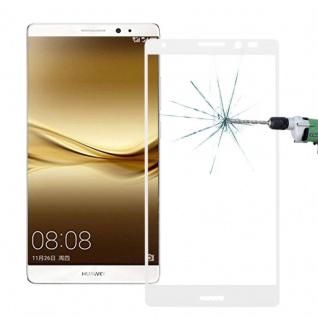 Full Hartglas 0, 26 mm dünne H9 Schock Weiß für Huawei Mate 8 Hülle Schutz Neu - Vorschau 2