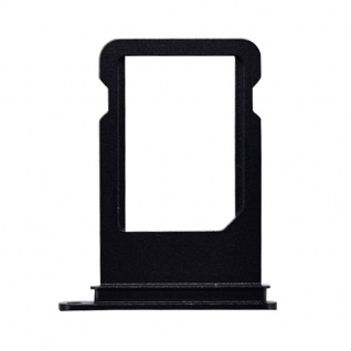 Nano Sim Karten Halter Adapter Sim Card Tray für Apple iPhone 7 & 7 Plus Schwarz