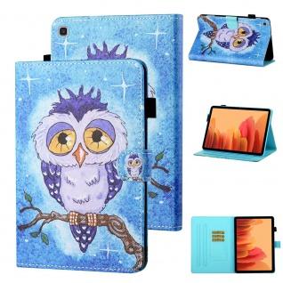 Für Samsung Galaxy Tab A7 2020 Motiv 81 Tablet Tasche Kunst Leder Hülle Etuis