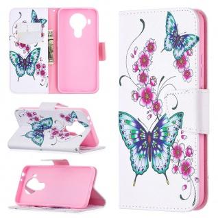 Für Nokia 5.4 Kunst-Leder Handy Tasche Motiv 7 Hülle Case Etuis Cover Schutz