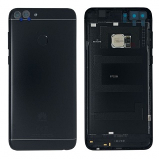 Huawei Akkudeckel Akku Deckel Batterie Cover Schwarz für P Smart / 02351TEF Neu