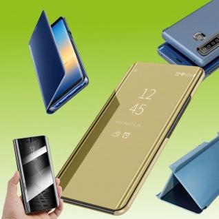 Für Sony Xperia 5 II 2. Gen View Smart Cover Gold Handy Tasche Etuis Wake UP Neu