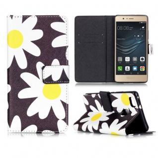 Schutzhülle Muster 72 für Huawei P9 Lite Bookcover Tasche Case Hülle Wallet Etui