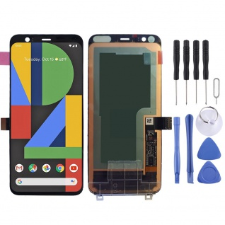 Für Googel Pixel 4 Display Full OLED LCD Einheit Touch Screen Reparatur Schwarz