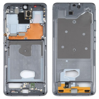 Mittelrahmen Bezel Samsung Galaxy S20 Ultra 5G SM-G988B Grau Middle Frame Rahmen