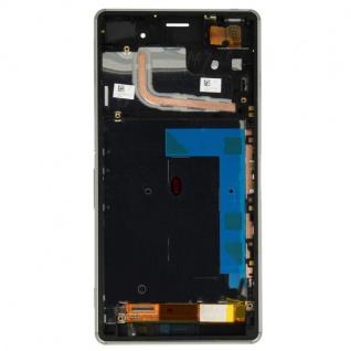 Original Sony Display LCD Komplett Einheit mit Rahmen für Xperia Z3 D6603 Ersatz - Vorschau 3