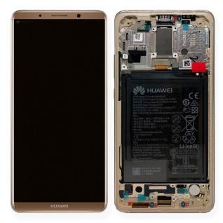Huawei Display LCD Einheit Rahmen für Mate 10 Pro Service Pack 02351RQM Braun