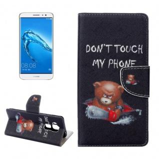 Schutzhülle Muster 75 für Huawei Nova Plus Bookcover Tasche Case Hülle Wallet