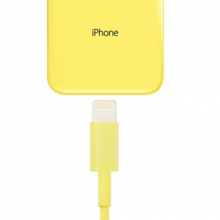 USB Datenkabel Gelb IOS 7 / 8 für Apple iPhone 5 5S 5C iPad 4 Air Mini Retina Neu - Vorschau 2