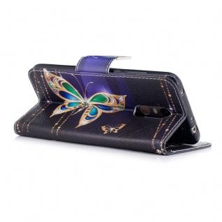 Für Huawei P Smart Plus Kunstleder Tasche Wallet Motiv 32 Schutz Hülle Case Neu - Vorschau 3