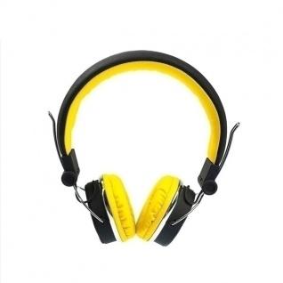 AWEI Bluetooth A700BL Schwarz / Gelb Wireless Stereo Headset Kopfhörer Zubehör