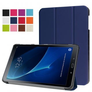 Smart Cover Dunkelblau Tasche für Samsung Galaxy Tab A 10.5 T590 Hülle WakeUp