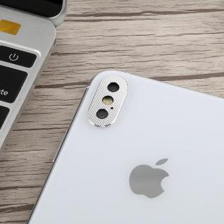 Kamera Cam Schutz Protection Ring für Apple iPhone XS 5.8 Zoll Silber 2Pcs - Vorschau 3