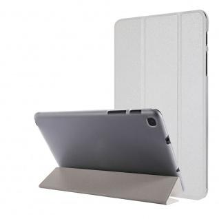 Für Samsung Galaxy Tab A7 Lite 2021 Wake UP Smart Cover Tablet Tasche Weiß Etuis