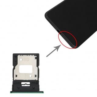Dual Sim Card Micro SD Tray für Xiaomi Mi 11 Lite Grün Karten Halter Ersatzteil