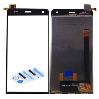 Display Full LCD Komplett Einheit für Wiko Getaway Reparatur Touch Schwarz Neu