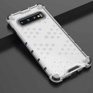 Für Samsung Galaxy S10 G973F Schock Silikon TPU Transparent Tasche Hülle Etuis
