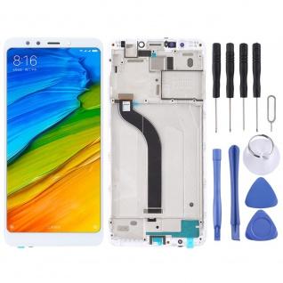 Für Xiaomi Redmi 5 Reparatur Display LCD Komplett Einheit mit Rahmen Weiß Ersatz