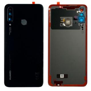 Huawei Akkudeckel Deckel Batterie Cover Schwarz P30 Lite+New Edition 02352RPV