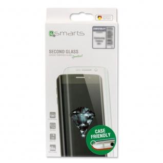 0, 3mm Hartglas Folie Case friendly Curved für Samsung Galaxy S9 G960F Schutz