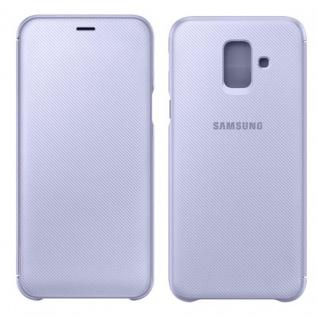 Samsung Wallet Cover Hülle EF-WA605CVEGWW Galaxy A6 Plus A605F Lavendel Tasche