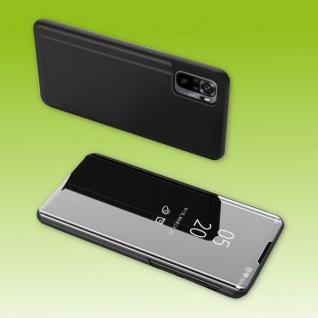 Für Xiaomi Redmi Note 10 / 10s View Smart Cover Hülle Schwarz Handy Tasche Etuis